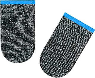 Homyl 2 conjuntos de luvas de dedo para controle de jogo móvel respirável com tela sensível ao toque e joysticks de ponta ...