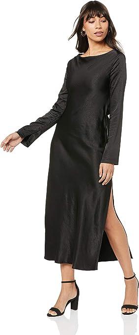 THIRD FORM Women's Tie Back Bias Maxi Dress