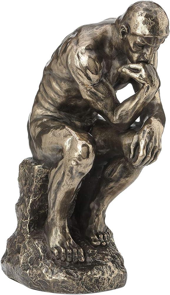 Veronese statua raffigurante il pensatore auguste rodin