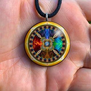 Orgone Pendant   Shamanic Orgonite Necklace   Shaman   EMF Protection   Seed of Life