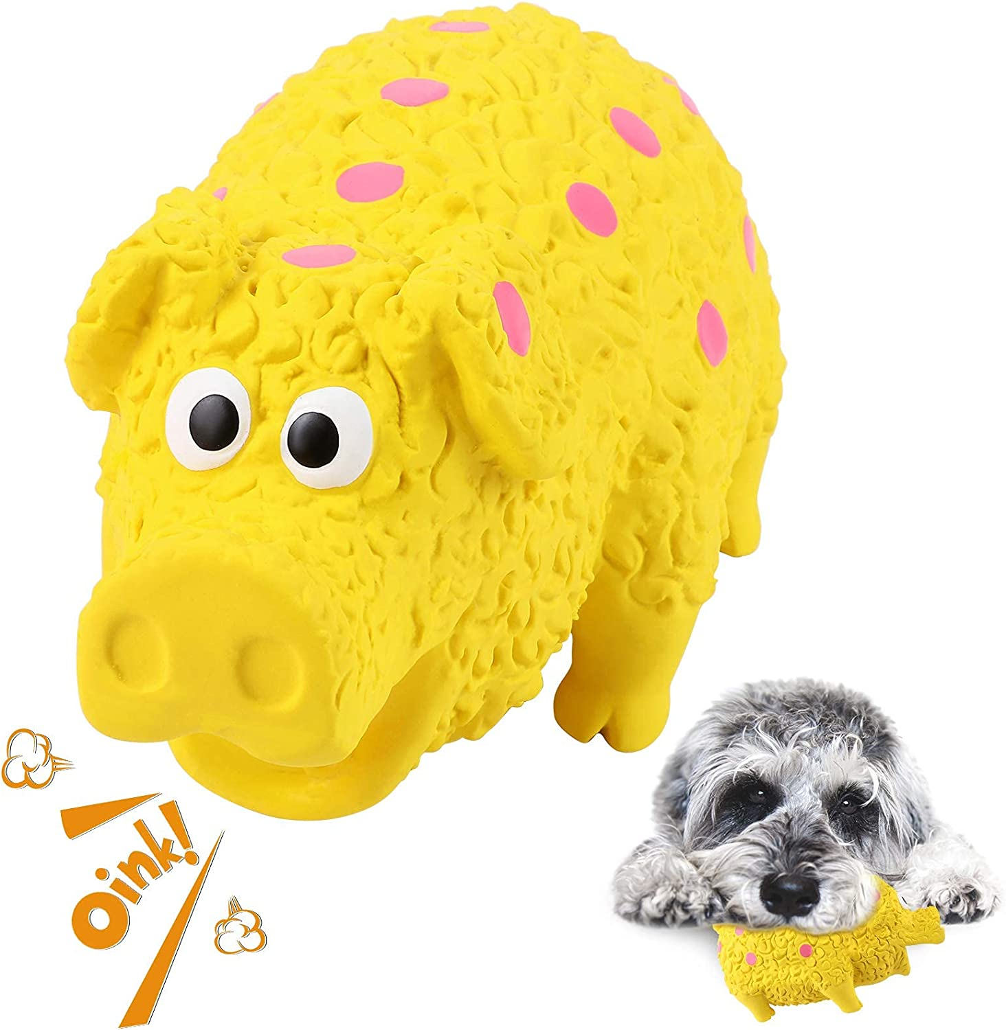TRYING Dog Squeaky Chew Toys Aggressive Large Direct sale of manufacturer Breed for Chewers Free shipping New