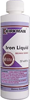 Kirkman Iron Liquid - Bio-Max Series || 237 ml/8 fl oz Liquid || Minerals || Free of Common allergens || Gluten Free || Ca...