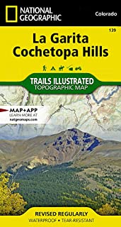 La Garita, Cochetopa Hills (National Geographic Trails Illustrated Map)