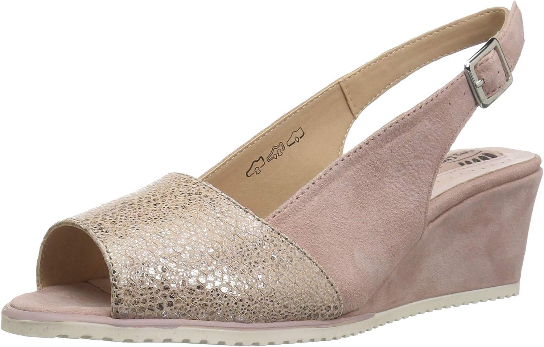 Spring Step Womens Evia Wedge Sandal
