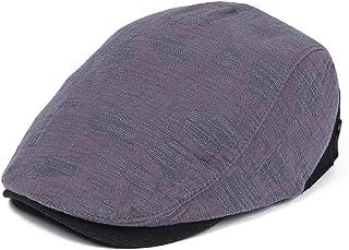 400404b74ba VOBOOM Men Denim Jeans Newsboy Beret Hat Duckbill Buckle Cabbie Cap