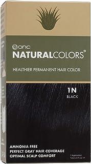 Sponsored Ad - ONC NATURALCOLORS (1N Black) 4 fl. oz. (120 mL) Healthier Permanent Hair Dye with Certified Organic Ingredi...