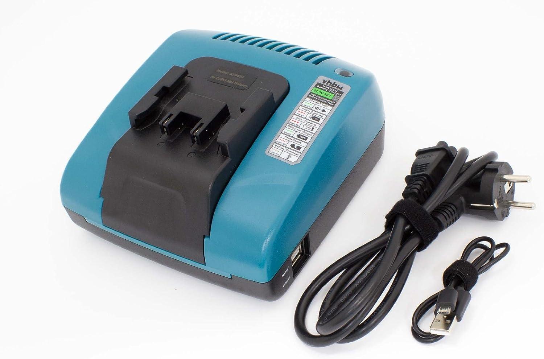 vhbw Cargador compatible con Würth 0702300924, APBO/SL 24V, WA 24V herramientas, baterías de Ni-Cd, NiMH (36V, 24V, 22V, 21,6V)