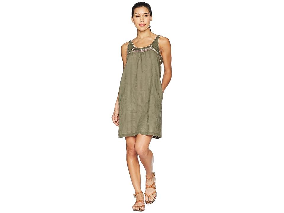 Carve Designs Brooke Dress (Olive) Women