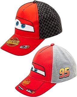 Disney Preschooler and Toddler Baseball Hat, Pack of 2 Hats for Boys Ages 2-7 | Kids Baseball Cap