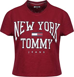 Tommy Hilfiger T-Shirts For Women, Red M