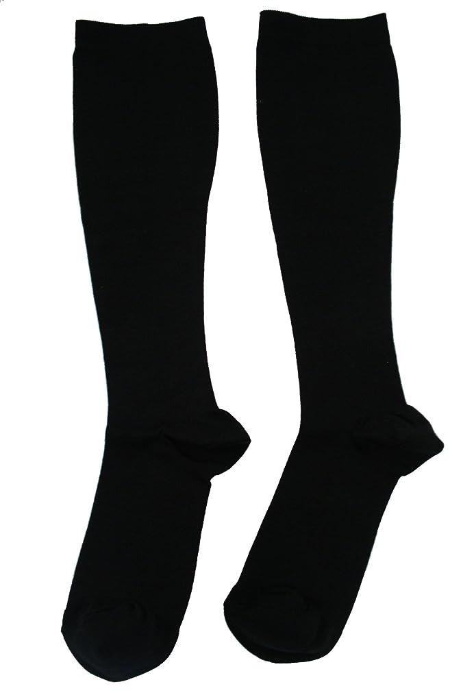 リベラル魅力的であることへのアピール以前はエンバランス 美 着圧ソックス ブラック Mサイズ T41080