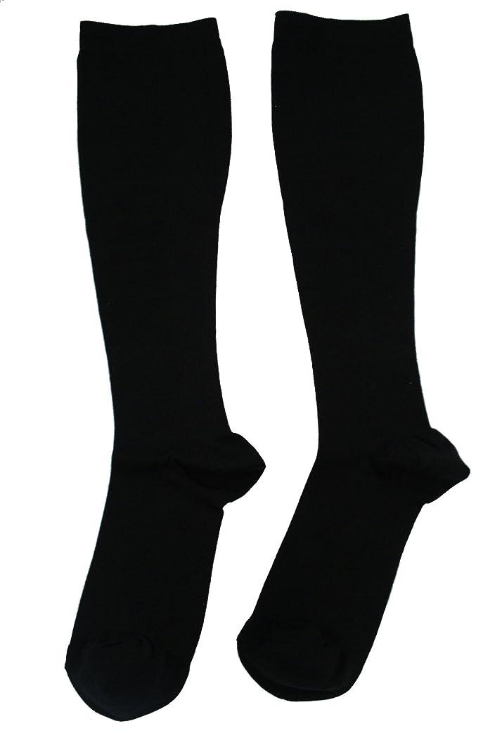 東方れんが縫い目エンバランス 美 着圧ソックス ブラック Lサイズ T41081