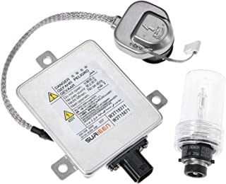 SURIEEN W3T19371 Xenon HID Headlight Ballast with Igniter and D2S Bulb Control Unit Assembly Module Replaces W3T15671 W3T13072 Fit for 2002-2005 Acura TL 2004-2005 Acura TSX 2004-2006 Mazda 3 & More