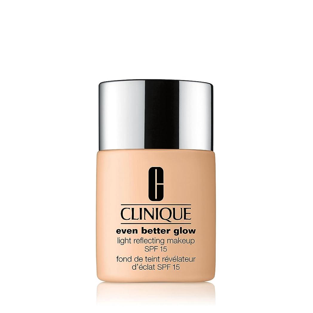 倒産増幅する普通のクリニーク Even Better Glow Light Reflecting Makeup SPF 15 - # CN 90 Sand 30ml/1oz並行輸入品