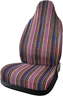 uxcell® Universal Multicolor Baja Blanket Vivid Bucket Seat Cover for Auto Car Truck