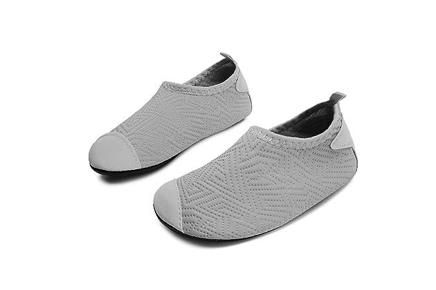 097608be3 L-RUN Kids Swim Water Shoes Barefoot Aqua Socks Shoes for Beach Pool  Surfing Yoga