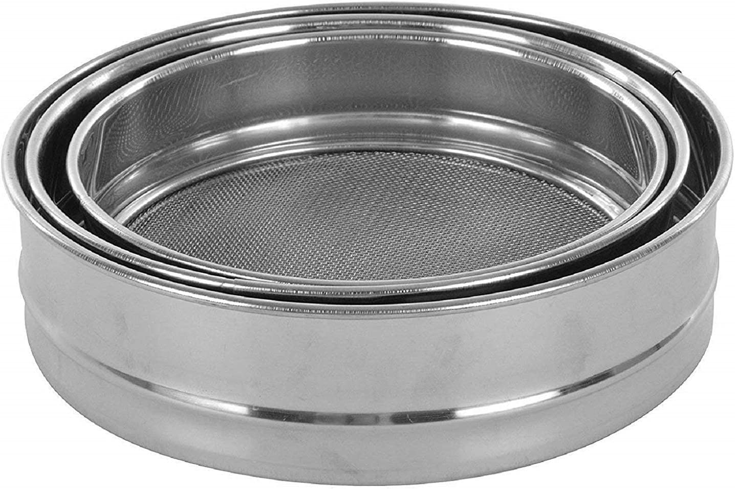 Red Crush Stainless Steel Flour Att 格安 価格でご提供いたします 割り引き Strainers Chalni Spices Food