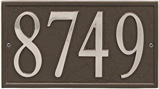 ART & ARTIFACT by Whitehall Personalized Cast Metal Address Plaque - 11