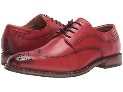 Stacy Adams Fletcher Wing Tip Oxford (Cranberry) Men