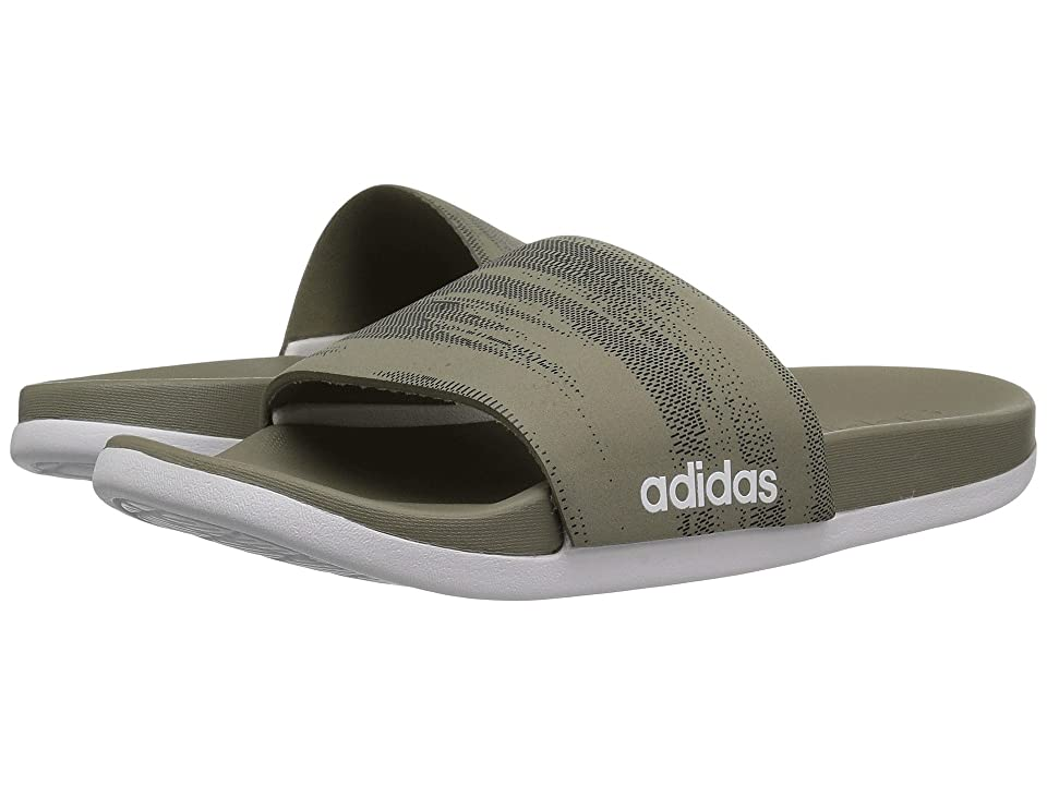 adidas Adilette CF+ Link GR (Trace Cargo/Black/Trace Cargo) Men