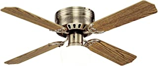 Westinghouse Lighting 7213600 Casanova Supreme 42-Inch Antique Brass Indoor Ceiling Fan, Light Kit