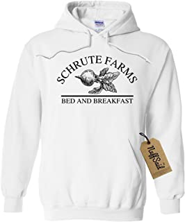 8eefaf1f7535 NuffSaid Schrute Farms Beets Bed and Breakfast Hooded Sweatshirt Sweater  Pullover - Unisex Hoodie