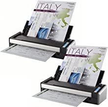 Fujitsu ScanSnap S1300i Portable Color Duplex Document Scanner for Mac and PC (2-Pack)
