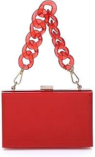 Funky Junque Handtasche/Handtasche mit Schulterriemen, quadratisch
