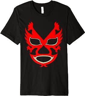 Feel-Ink Dos Caras Lucha Libre Mexican Wrestler Legend Premium T-Shirt