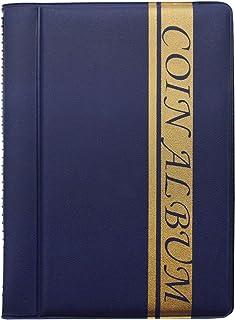ZSWQ Album de Collection de pièces de Monnaie Album numismatique,Rangement Numismatique Collection Poches Numismates 10 Fe...