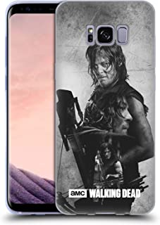 Official AMC The Walking Dead Daryl Double Exposure Soft Gel Case Compatible for Samsung Galaxy S8