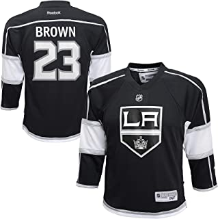 Dustin Brown Los Angeles Kings Black Replica Infant Jersey
