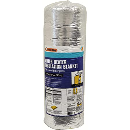 """Frost King SP60 All Season Water Heater Insulation Blanket, 3"""" Thick x 60"""" x 90"""", R10"""