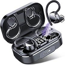 Kopfhörer kabellos, Coioc Bluetooth Kopfhörer 120Hrs Stunden Akkulaufzeit mit 2600mAh Ladekoffer, verbessert Bass, Komfort...