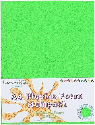 Embellissements Dovecraft Painted Blooms 6 x 6 Cartes et