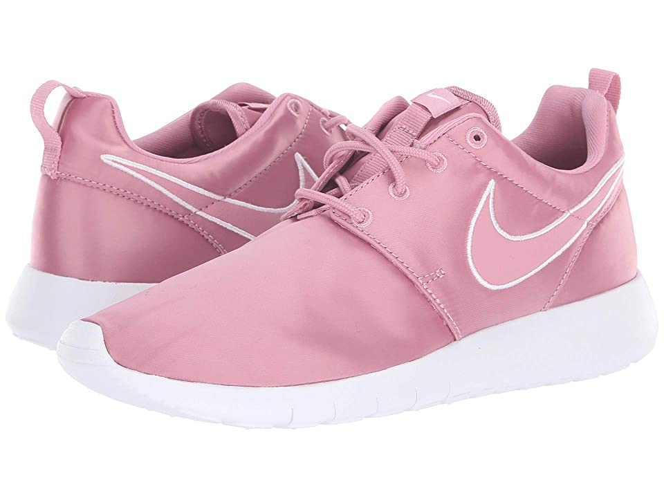 Nike Kids Roshe Run (Little Kid/Big Kid) (Elemental Pink/Elemental Pink/White) Girls Shoes
