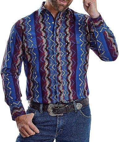 Wrangler Apparel Checotah - Camiseta azteca para hombre ...