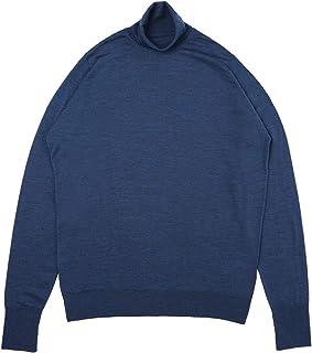 JOHN SMEDLEY ジョンスメドレー タートルネック セーター/ハイネックセーター/RICHARDS リチャーズ 30ゲージ メンズ [並行輸入品]