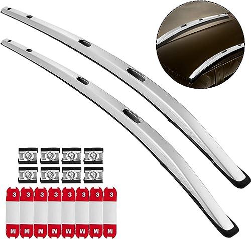2021 Mophorn Roof Rack 2PCS Roof Rack Rail Bar for discount Honda Vezel HRV HR-V online 2016 2017 2018 Silver outlet sale
