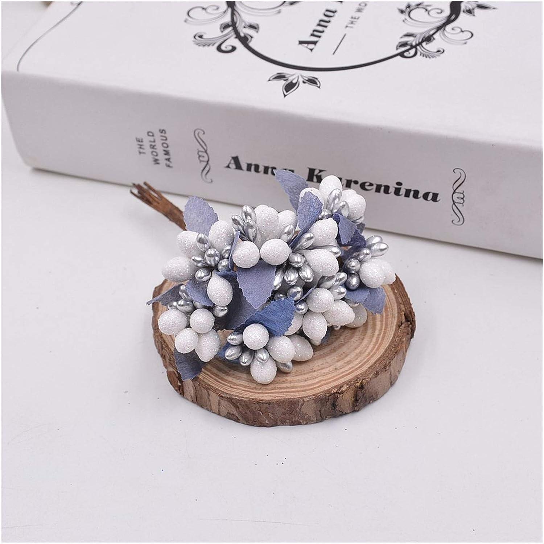Ranking TOP4 YSCSPQA Artificial Flowers 10pcs Wre New mail order DIY Scrapbooking Decorative