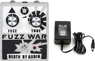 Death by Audio Fuzz War Pedal w/ Power Supply