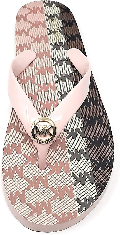 Michael Kors Color Block MK Multi Fashionable Flop Flip Sale Blossom