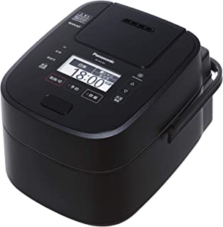 パナソニック 炊飯器 5.5合 スチーム&可変圧力IH式 Wおどり炊き ブラック SR-VSX108-K
