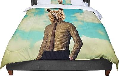 Cal King Comforter 104 X 88 KESS InHouse Mat Miller The Aerialist King