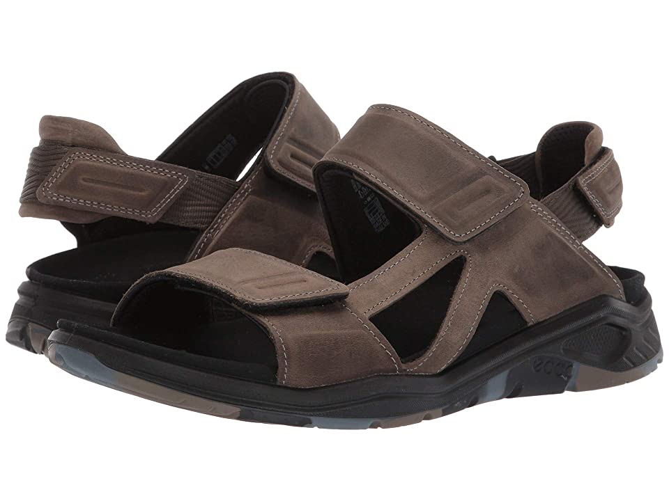 UPC 809704880648 product image for ECCO Sport X-Trinsic Leather Sandal (Tarmac Tak Nubuck) Men's Sandals | upcitemdb.com