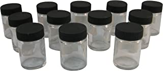 Badger Air-Brush Co. 50-0052B 3/4-Ounce Jar and Cover, Box of 12