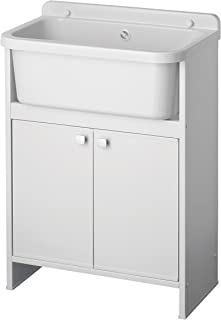 Negrari 5001pkc Meuble gain de place, blanc, 55 x 35 cm