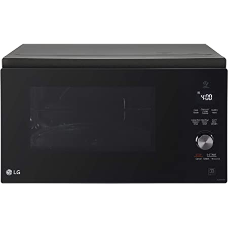 LG 32 L Charcoal Convection Microwave Oven (MJEN326SF, Black)