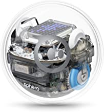 Sphero BOLT: App-Enabled Robotic Ball, STEM Learning and Coding for Kids, Programmable LED Matrix, Bluetooth Connection, Learn Javascript and Scratch, Swift Playground Compatible