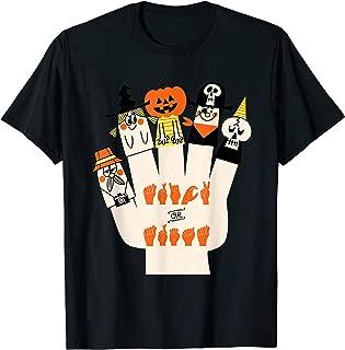 Trick Or Treat Asl Halloween Sign Language Gifts T-Shirt